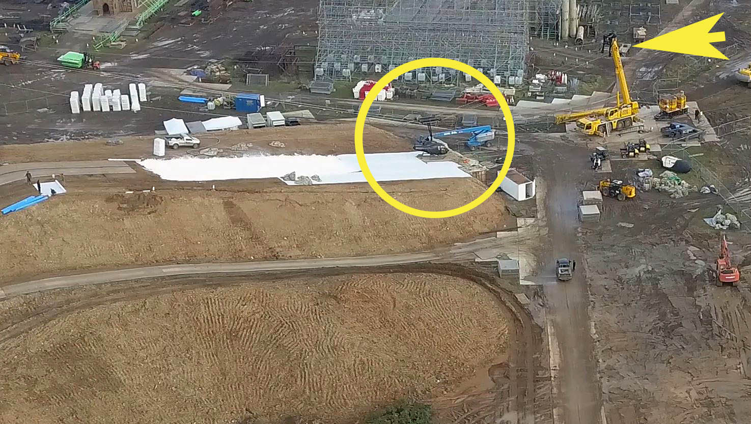 Mission Impossible Fallout Helicopter Lands at NEW Warner Harry Potter Studio Tour