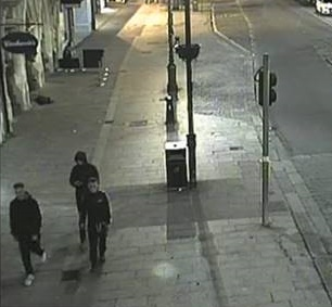 CCTV images after a Berkhamsted Assault left Teen victim with fractured jaw
