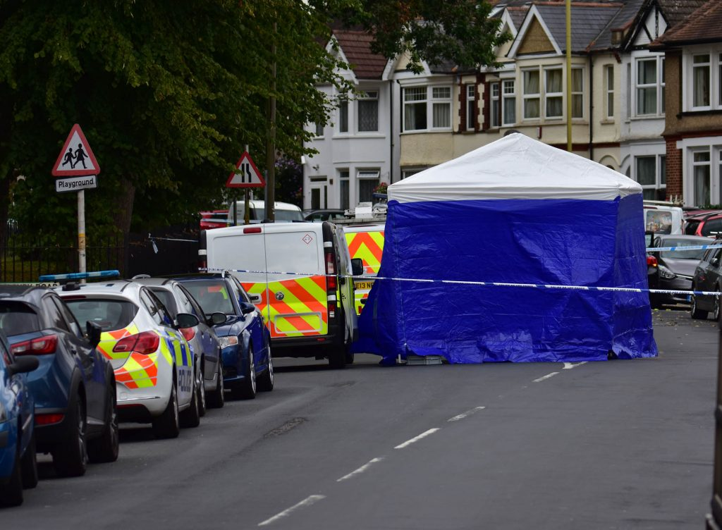 Police Launch Murder investigation after a Double stabbing in Watford today.