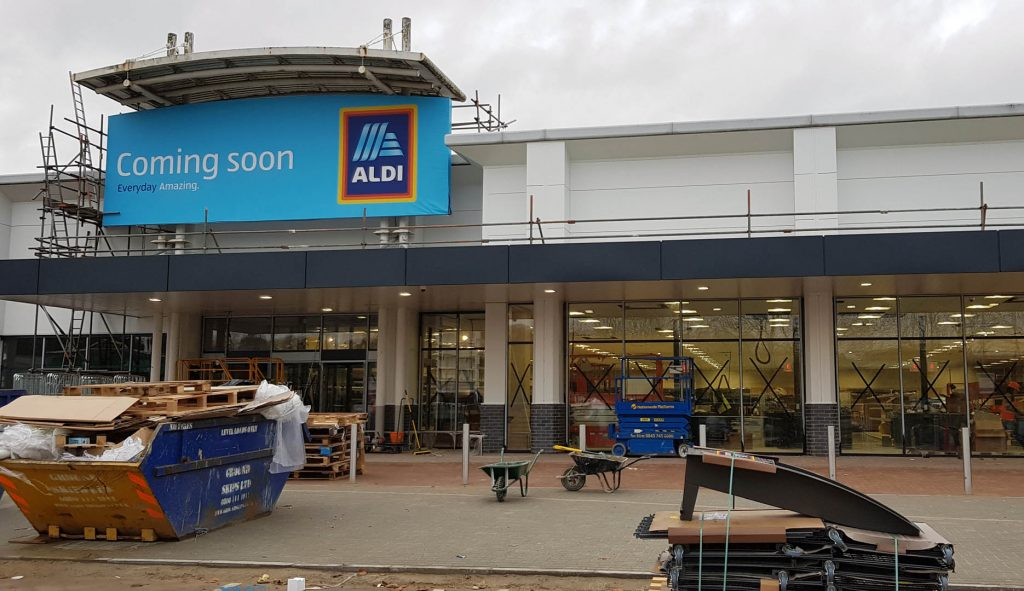 ALDI to be Watfords Second Budget Supermarket