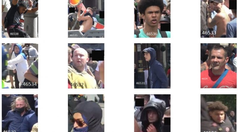 Thirteen more images released in relation to disorder in central London